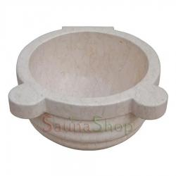 Курна в хамам TSL-1 Beige Marble