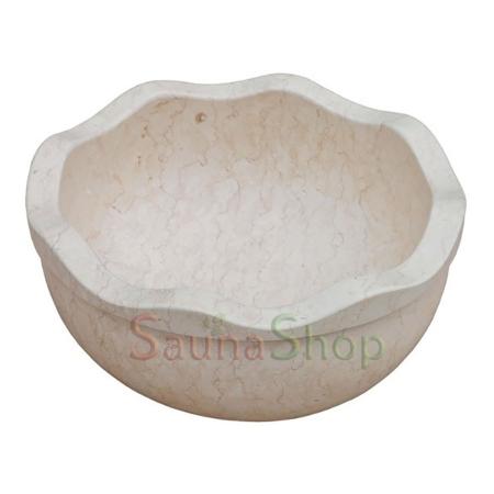 Мраморная курна для хамама TSL-2 Beige Marble