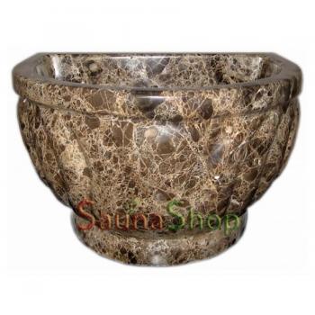 Курна для хамама TSL-3 Brown Marble