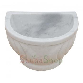Курна-умывальник для хамама TSL-3 White Marble