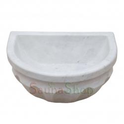 Курна в хамам TSL-4 White Marble