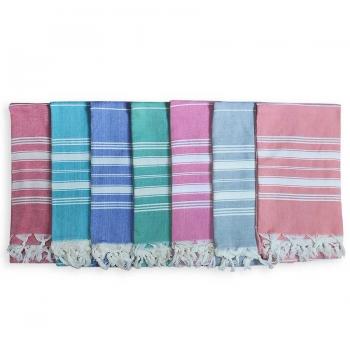 Турецкое полотенце пештемаль для бани, хамама Босфор