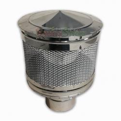 Искроулавливатель для дымохода, нержавейка (выход 120мм)
