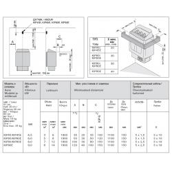 Электрокаменка Harvia Trendi Kip 45 Steel