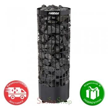 Harvia Cilindro PC 70 E Black Steel