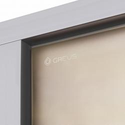 Двери для хамама Greus Premium Бронза Мат