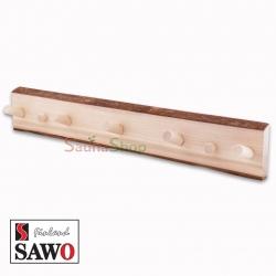 Деревянная вешалка для бани Sawo 583-NA