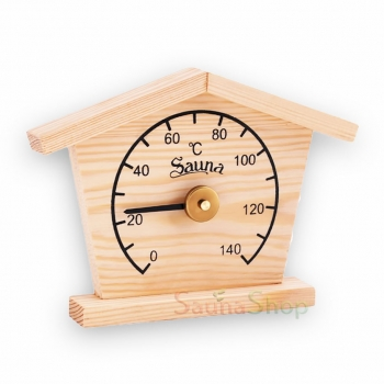 """Термометр для бани """"Домик"""" Sawo 135-T"""