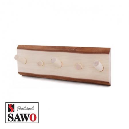 Деревянная вешалка для бани Sawo 582-NA