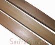 Ламинированный брус из канадского кедра 90*22мм, Sawo