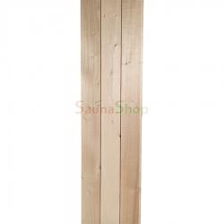Вагонка-панель из липы для бани и сауны 95*15мм. 1/с (0,8-1,9м)