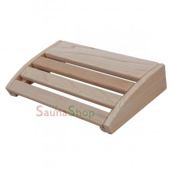 Подголовник для сауны из кедра
