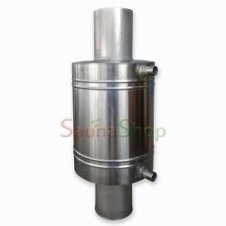 Регистр теплообменник для бани,15л. Ф120мм. AISI321