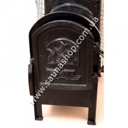 Дровяная печь для бани PAL PR-50 L с выносной чугунной дверцей купить по выгодной цене в Киеве
