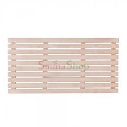 Деревянный трап для бани 500*1000*28мм, Ольха
