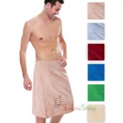 """Парео махровое для бани """"Sauna"""""""