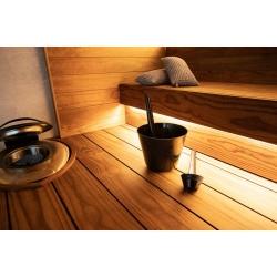 Шайка с черпаком для бани Harvia Click, 7л
