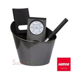 "Набор Harvia Sauna Set ""Black steel"""