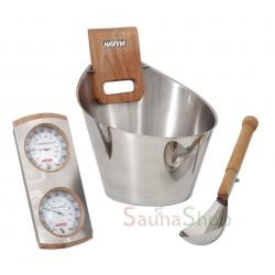 Набор для сауны Harvia Sauna Set, Steel