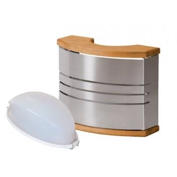 Светильник с абажуром для сауны Harvia Steel