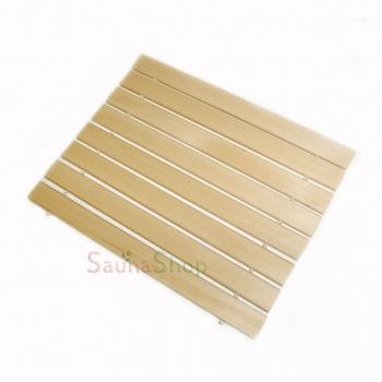 Подстилка, сидушка деревянная для бани и сауны