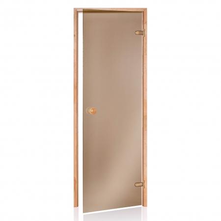 Двери для парной Andres Бронза 800*2100