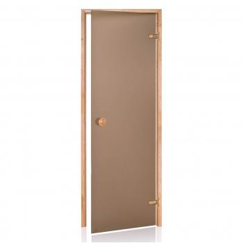 Двери для сауны Andres Бронза матовая 700*1900
