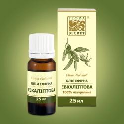 Эфирное масло для бани Эвкалипт, 25мл Flora Secret