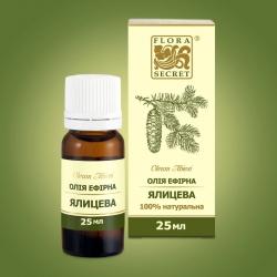 Натуральное эфирное масло Пихта, 25мл Flora Secret