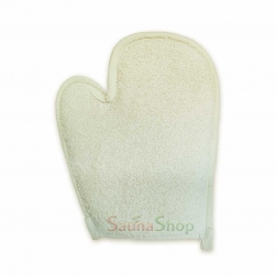 Рукавица мочалка для бани и хамама