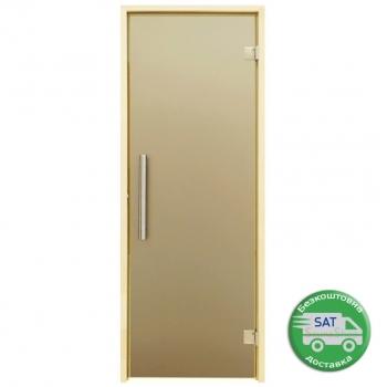 """Двери для сауны Tesli """"Steel"""" выбор размера"""