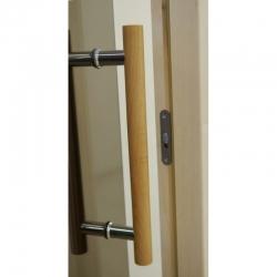 """Двери для сауны Tesli """"Steel"""", выбор размера"""