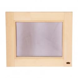 Окно для бани под заказ, по индивидуальным размерам
