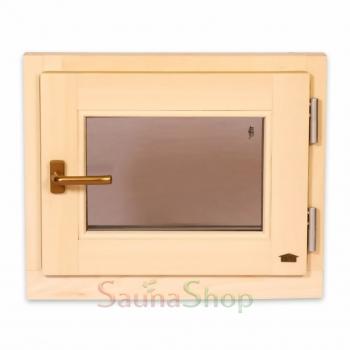 Окно для бани, сауны Tesli 500х600мм.