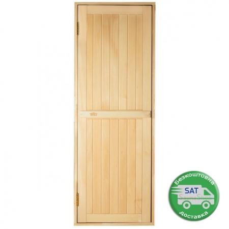 """Двери для бани Tesli """"Глухие"""" 700*1900мм."""