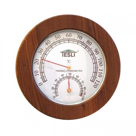 Термогигрометр для бани, сауны Tesli Lux-165