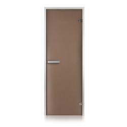 Двери для турецкой бани Greus, бронза матовая