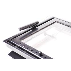 Дверца для печи или камина Valte Slim 425*625mm