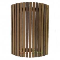 Ограждение для светильника в сауне Миди, термо-липа