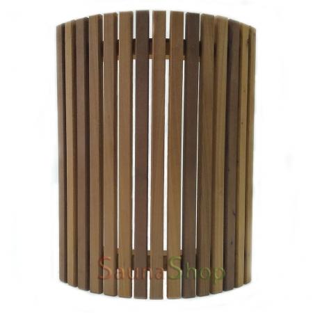 Ограждение для светильника в сауне Миди термо-липа