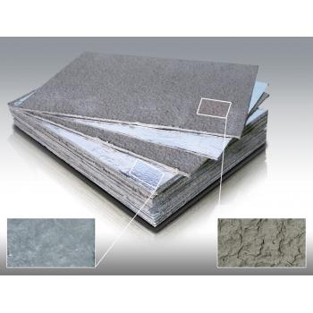 Базальтовый картон фольгированный 850*1180*10мм, 1 лист