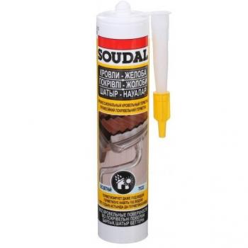 Профессиональный кровельный герметик Soudal AQUAFIX, 280мл