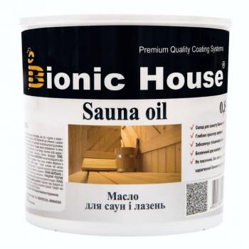 Масло для полок и стен сауны Bionic House 0.8л, Украина