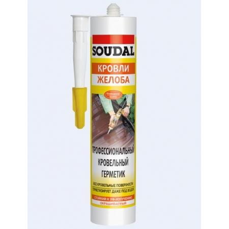 Профессиональный кровельный герметик Soudal AQUAFIX, 310мл