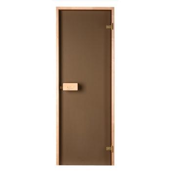Двери для саун Saunax бронза прозрачная (выбор размера ниже)