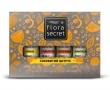 """Ароматический набор для сауны или бани """"Сочный цитрус"""" Flora Secret, 4Х10мл"""
