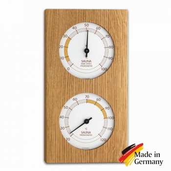 Термогигрометр для бани, сауны TFA-Dostmann, Дуб, Германия