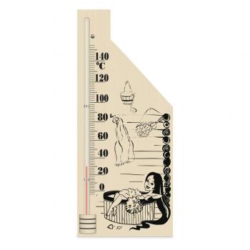 Термометр спиртовой для сауны Виктер-5