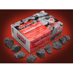 Камни для бани - оливиновый диабаз колотый