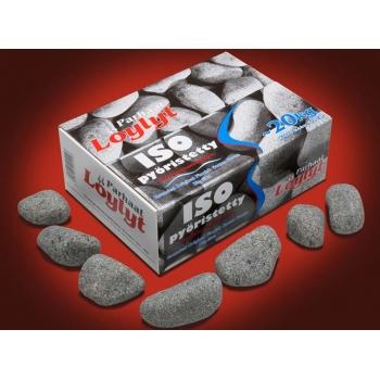 Камни для бани - оливиновый диабаз овалованый, 20кг